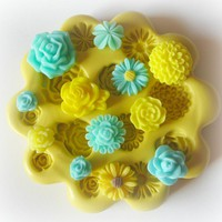 Polymer Clay Charm Mold Silicone Ca.. on Luulla