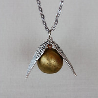 Golden Snitch Locket