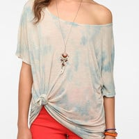Daydreamer LA Tie-Front Boyfriend Tee
