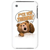 F*ck You Thunda iPhone 3G Hard Case on CafePress.com