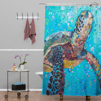 Elizabeth St Hilaire Nelson Water Baby Shower Curtain