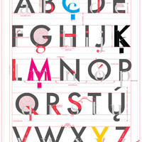 Pop Chart Lab — Alphabet of Typography