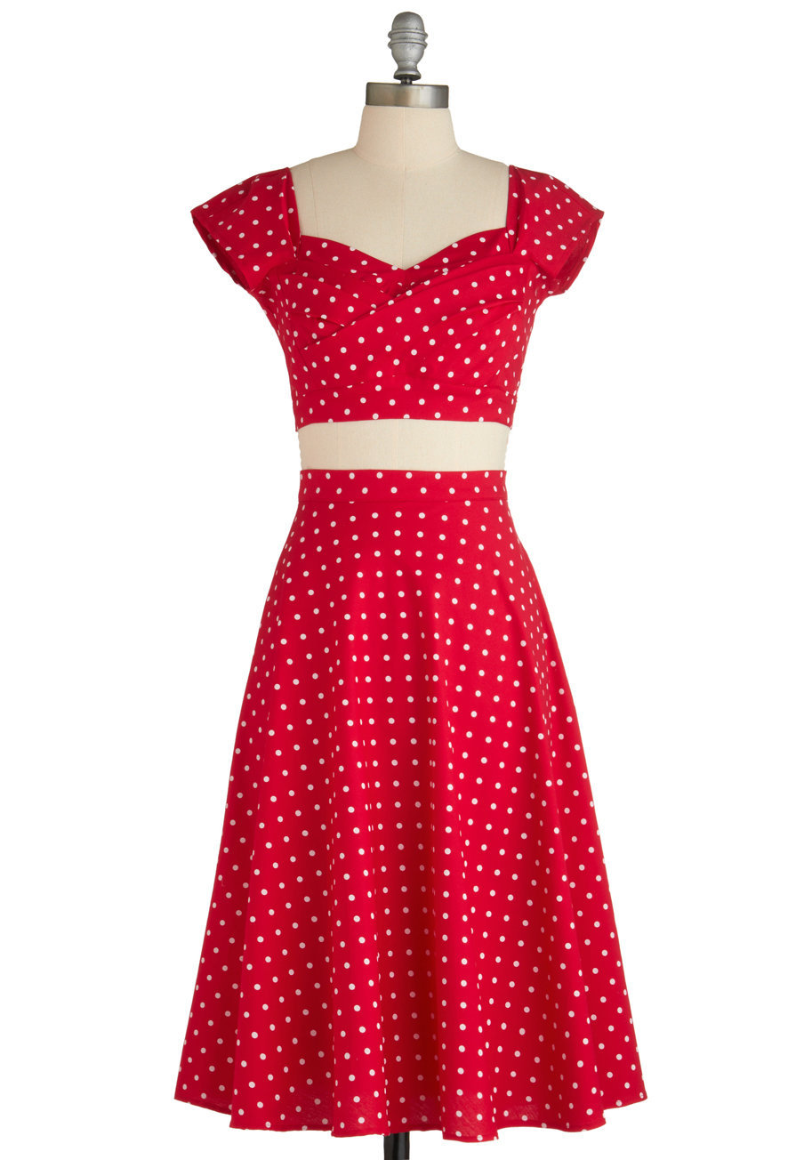 Stop Staring! Pin-Up to Par Dress | Mod Retro Vintage Dresses | ModCloth.com