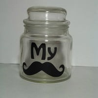 My Stache Mustache Money Jar