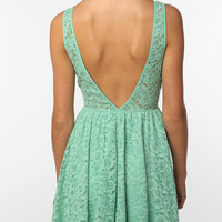 Pins &amp; Needles Backless Lace Dress