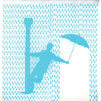 Kikkerland Design » Products » Shower Curtain Singing In Rain