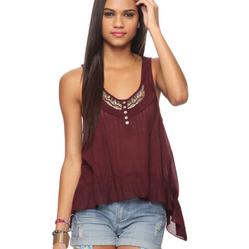 Beaded Trapeze Tank | FOREVER21 - 2011409988