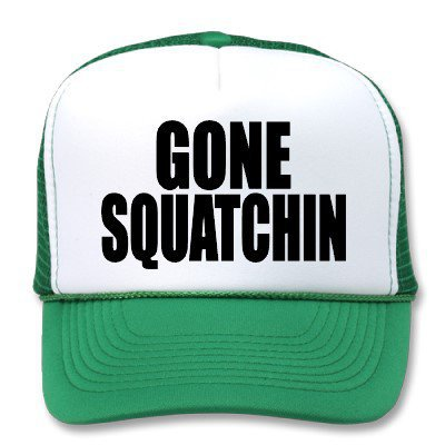 Original &amp; Best-Selling Bobo&#x27;s GONE SQUATCHIN Hat from Zazzle.com