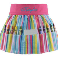 Crayon Apron - Personalized Skirt