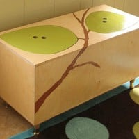 The Owyn Toy Box - Mod Toy Box - Mod Mom Furniture