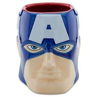 Sculptured Captain America Mug | Drinkware | Disney Store