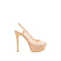 LACE SLINGBACKS - Shoes - Woman - ZARA United States