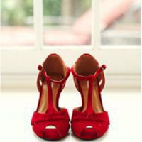 red mary janes!