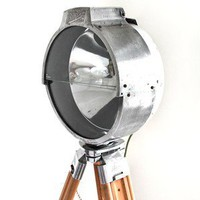 "SkinFlint Design Retro Searchlight by ""British Bullf - Floor Lamps - Modenus Catalog"