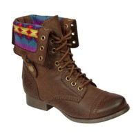 Women's Boot Jaclyn - Brown- SM New York-Shoes-Womens-Boots