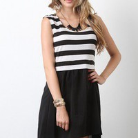 Sail In Stripes Dress