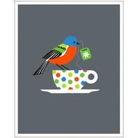 Hybrid-Home Limited Edition Print - Painted Bunting