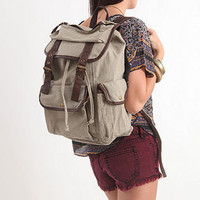 Multi Pocket Rucksack Backpack