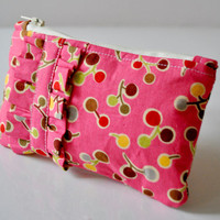 Lollipop Print Pink Ruffle Purse. on Luulla