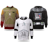ThinkGeek :: Star Wars Costume Hoodies