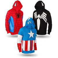 ThinkGeek :: Marvel Superhero Hoodies
