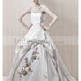 Wholesale A-Line Strapless Floor-Length Gown with Satin Style Guadalupe ,for $238.00 only in IndeedBuyer.com.  - IndeedBuy