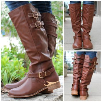 Hollow Brook Estates Boot - Brown - BROWN /
