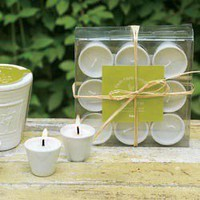 Mini Herb Scented Candles