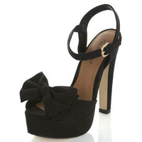 Hari Black Simple Sandal - Vintage Style  - Apparel  - Miss Selfridge US