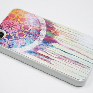 Dream catcher iPhone 4 Case, iPhone 4s Case, iPhone 4 Cover, Hard iPhone 4 Case , silicone iphone 4 case