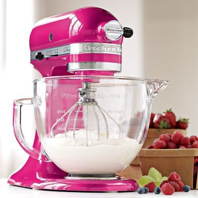 Home makeover ideas / KitchenAid Artisan Susan G. Komen Stand Mixer, Raspberry Ice | Williams-Sonoma