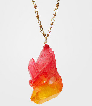 Sunset Crystal Necklace