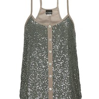 Daytrip Button Down Sequin Tank Top - &#x27;s  | Buckle