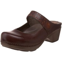 Dansko Women`s Solitaire Clog,Chocolate,38 EU / 7.5-8 B(M) US