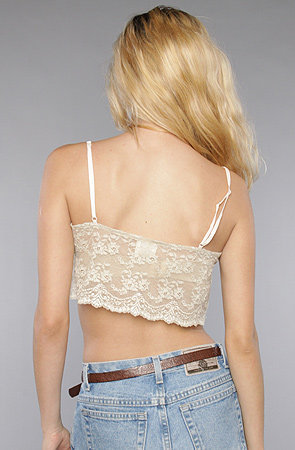 The Washed CDC Crop Cami in Ivory