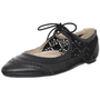 Restricted Women`s Suzie Flat,Black,10 M US