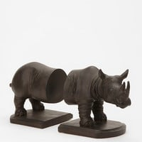 Rhino Bookend - Set of 2