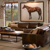 1928 Royal Ascot Thoroughbred Print | Art | Restoration Hardware