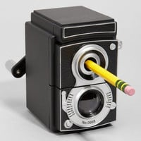 Vintage Camera Pencil Sharpener | Medium Format | fredflare.com