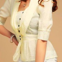 Light Yellow Dollhouse Blouse