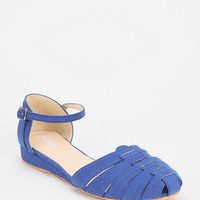 Cooperative Canvas Ankle Strap Skimmer