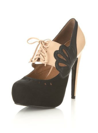 Sian Nude Two Tone Town Shoe
