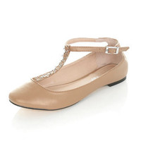 Elle Nude Star Chain Pump - Shoes
