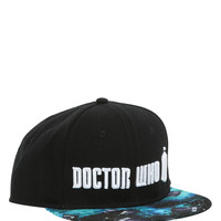 Doctor Who TARDIS Logo Snapback Hat