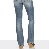 silver jeans co. ® Aiko medium rise whip stitch jeans
