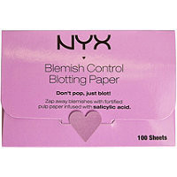 NYX Blemish Control Blotting Paper 100 Ct Blemish Control Ulta.com - Cosmetics, Fragrance, Salon and Beauty Gifts