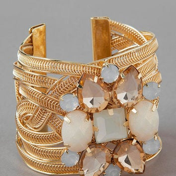 Cadiz Jeweled Cuff