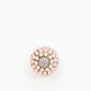 Pink Burst Cocktail Ring - ShopSosie.com