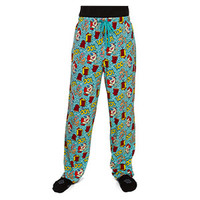 Ren and Stimpy Lounge Pants - Aqua,