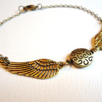 Golden Snitch Bracelet by ViperCoraraDesigns on Etsy